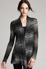 Eileen Fisher Long Shaped Ombré Cardigan - Lyst