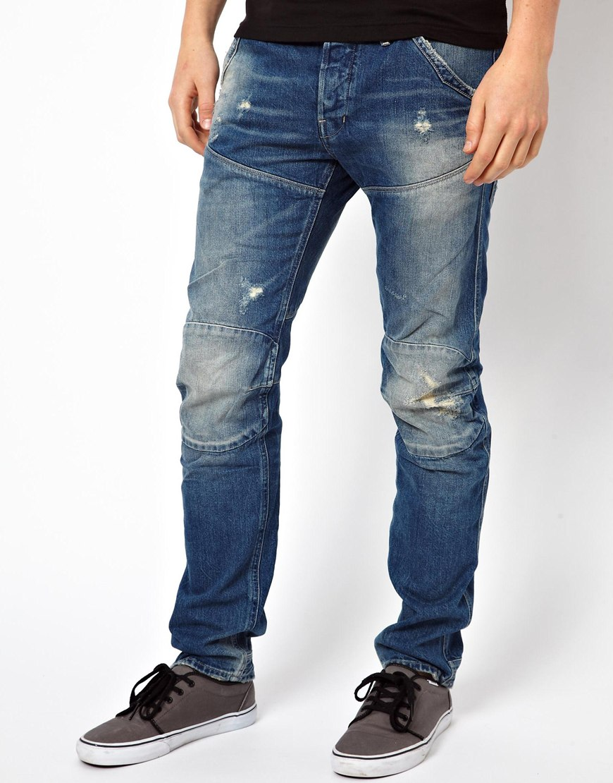 g star raw g star jeans hunter elwood 3d low tapered. Black Bedroom Furniture Sets. Home Design Ideas
