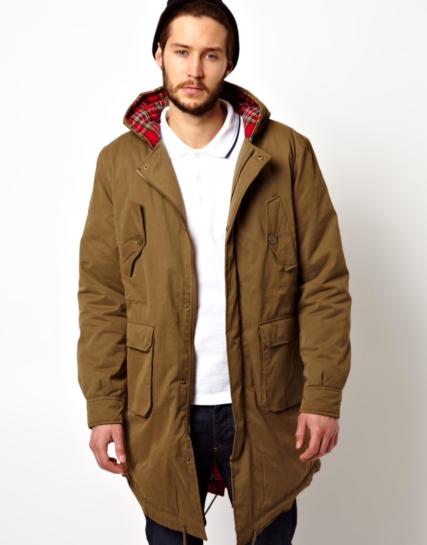 Patagonia Merc Parka With Fishtail In Green For Men Lyst