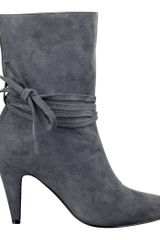 Nine West Painted Bootie - Lyst