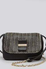 See By Chloé Shoulder Bag Rosita Patterned Calf Hair Mini - Lyst