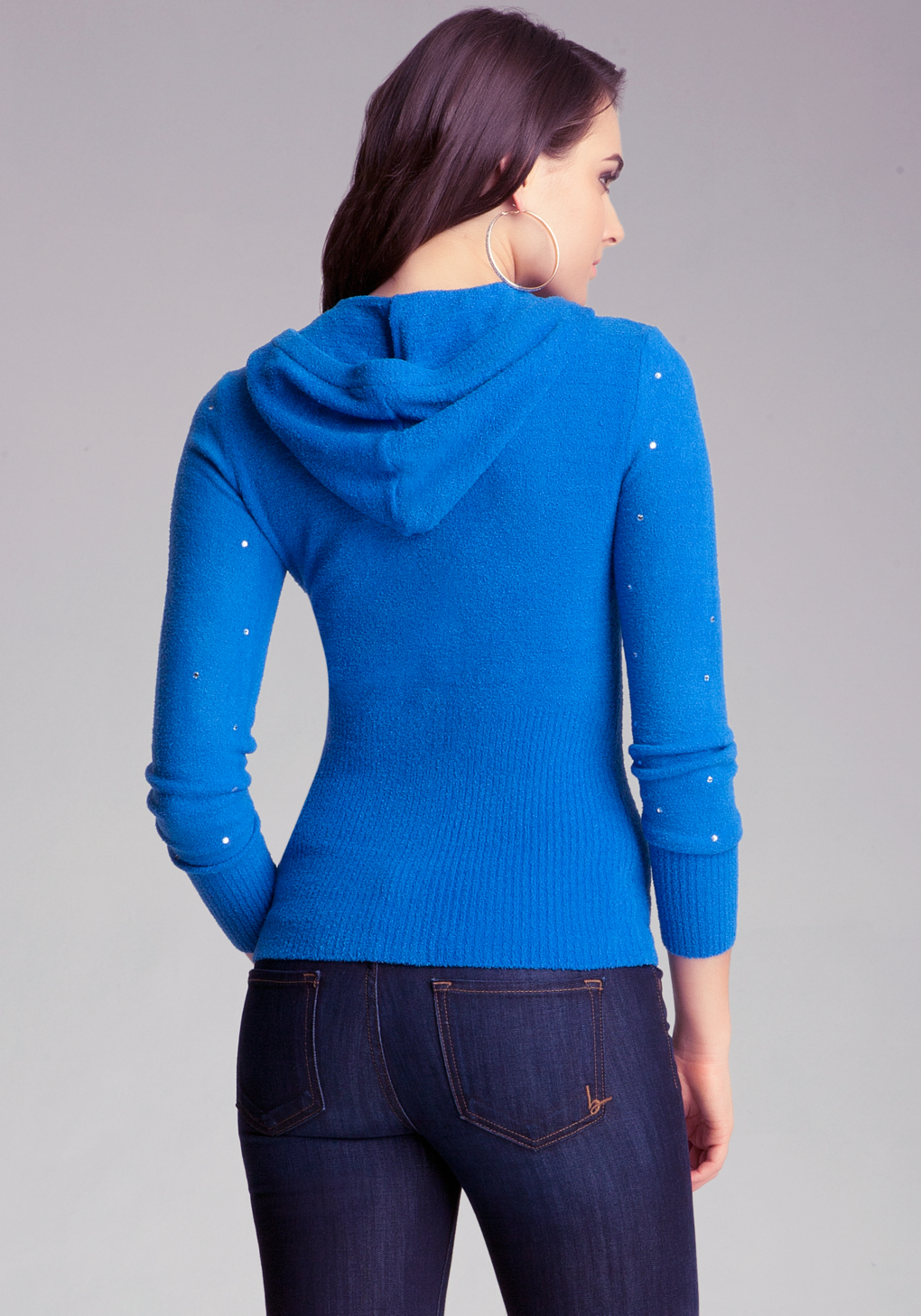 Chenille hoodie