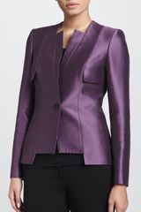 Carolina Herrera Paneled Jacket - Lyst