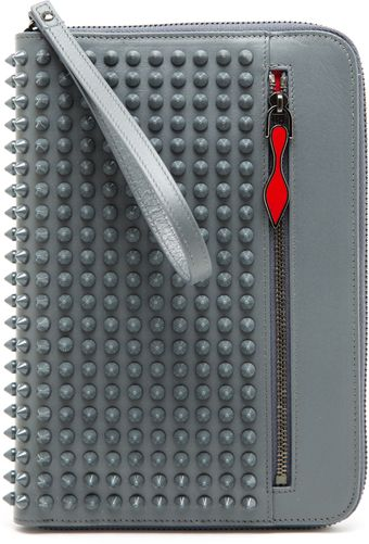 Christian Louboutin Cris Leather Ipad Mini Case - Lyst