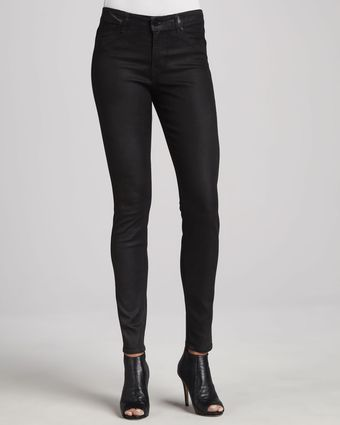 Cj By Cookie Johnson Joy Coated Jeans Black - Lyst