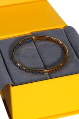 Fendi Bijoux Sta Rigid Bracelet Leather Small - Lyst