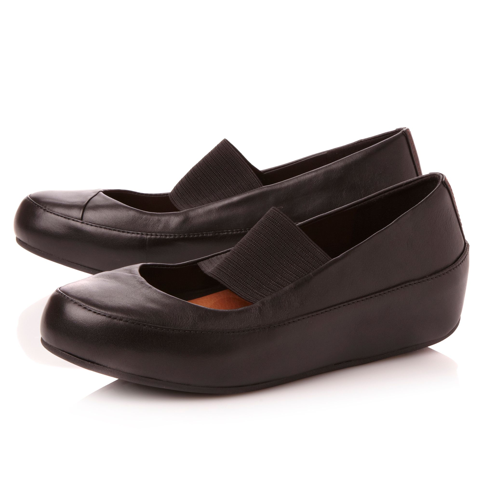 1ad328bb0183a2 Fitflop Due Mary Jane Leather Black