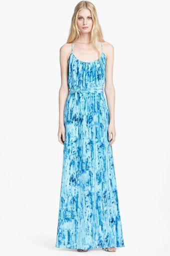 Jay Godfrey Blouson Maxi Dress - Lyst