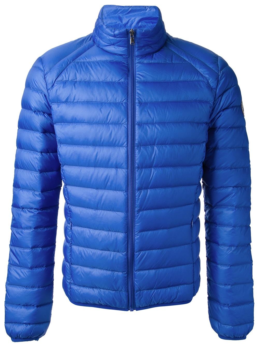 J.o.t.t Jott Padded Jacket in Blue for Men