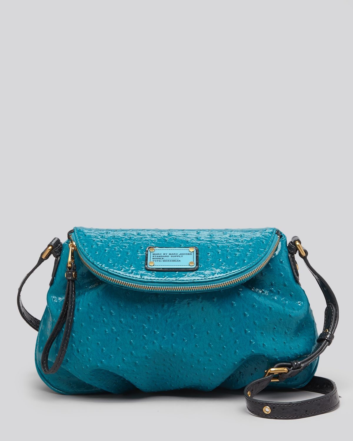 Marc by marc jacobs Crossbody Classic Q Patent Colorblock Natasha in ...