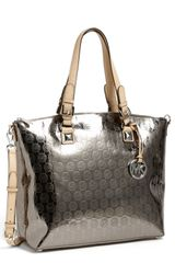 Michael by Michael Kors Jet Set Satchel - Lyst