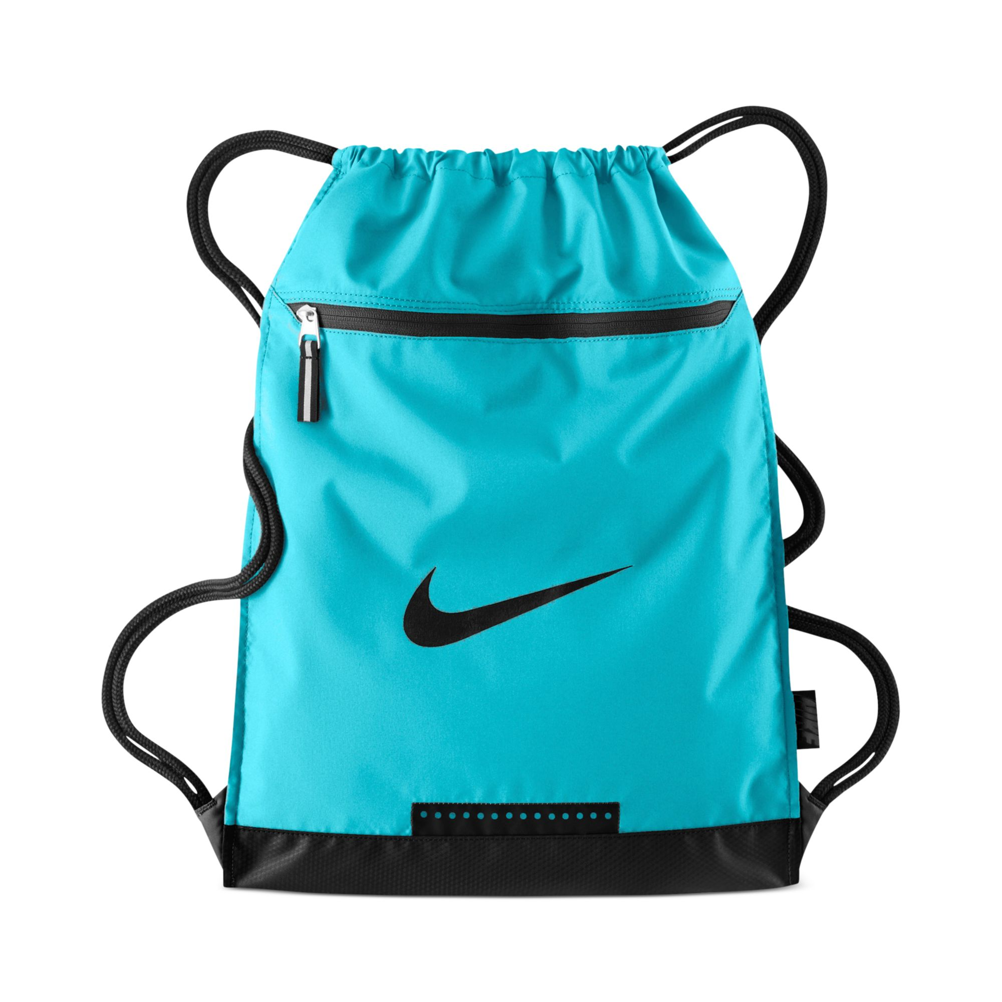 Nike Team Training Gymsack Bag in Blue for Men | Lyst