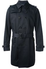 Paul Smith Trench Coat - Lyst
