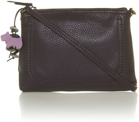 Radley Purple Mini Shoulder Bag in Purple