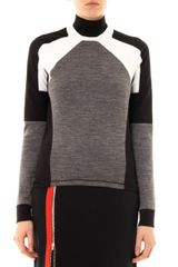 Thomas Tait Colourblock Jersey Sweatshirt - Lyst