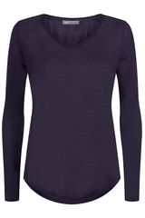 Vince Long Sleeve Tshirt - Lyst