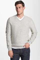 Vince Alpaca Wool V-neck Sweater - Lyst