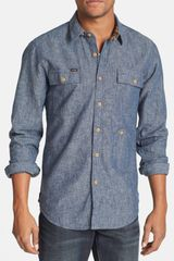 Volcom  Slim Fit Sport Shirt - Lyst