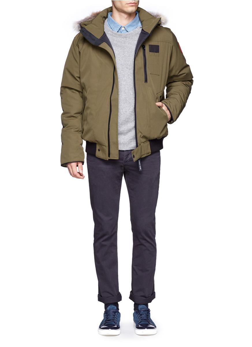 Canada Goose montebello parka online discounts - Canada goose Borden Bomber Jacket in Green for Men (Blue and Green ...