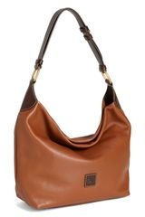 Dooney & Bourke Leather Hobo - Lyst