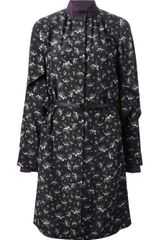 Fendi Printed Shirt Dress - Lyst