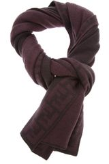 Fendi Patterned Scarf - Lyst