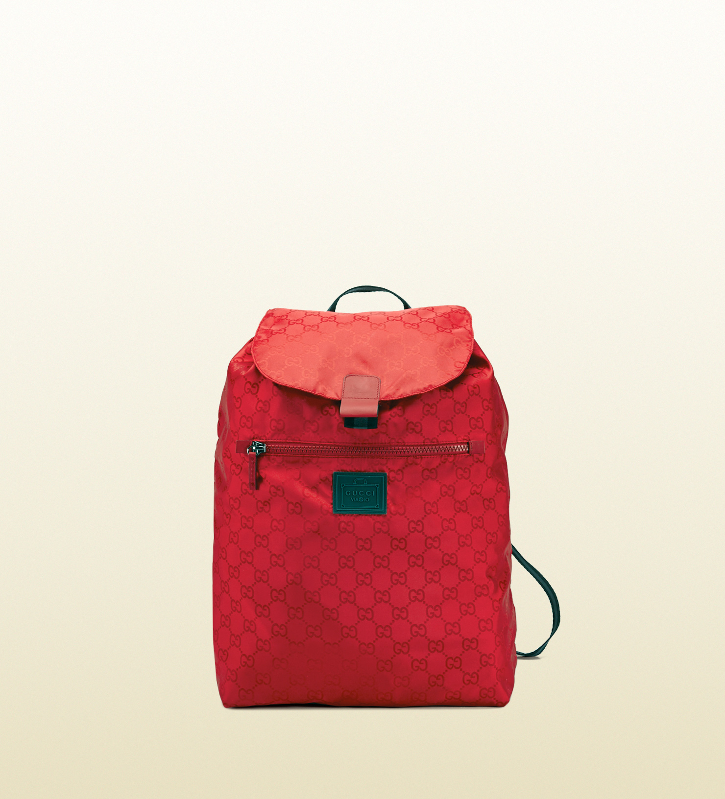 60aabe8fb194 Gucci Gg Nylon Backpack From The Viaggio Collection in Red for Men ...