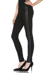 Isabel Marant Irox Studded Leggings - Lyst