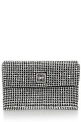 Karen Millen Limited Edition Crystal Encrusted Clutch - Lyst