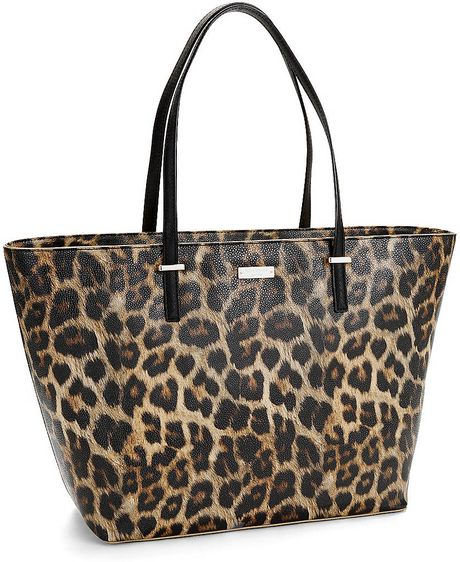 Kate Spade Cedar Street Harmony Animal Print Handbag In