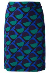Marc By Marc Jacobs Patterned Skirt - Lyst
