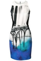 Mary Katrantzou City Print Dress - Lyst