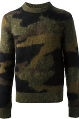 Michael Kors Camo Sweater - Lyst