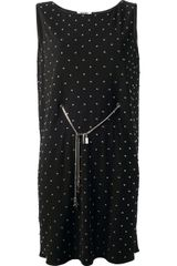 Moschino Cheap & Chic Studded Dress - Lyst