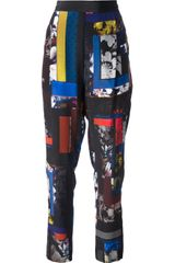 Paul Smith Black Label Printed Trouser - Lyst
