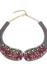 Rada' Crystal Embellished Necklace - Lyst