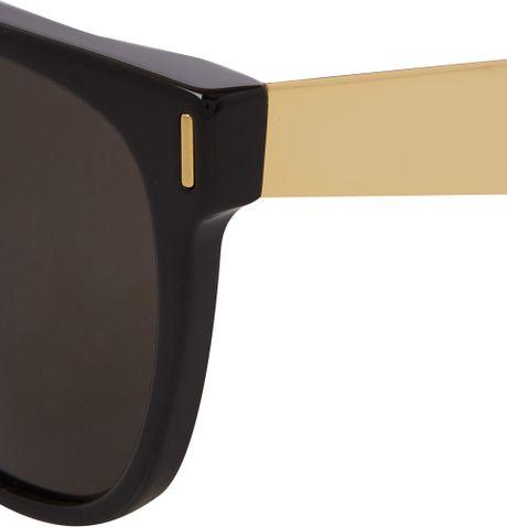 Super Flat Top Francis Sunglasses And Gold Flat Top Francis