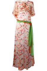 Sartoria Italiana Vintage Floral Dress - Lyst