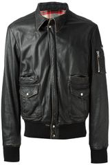 S.w.o.r.d Distressed Leather Jacket - Lyst
