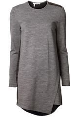 10 Crosby by Derek Lam Tunic Bonded Dress - Lyst