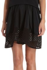 3.1 Phillip Lim Sleeveless Overlay Top Laser Cut Perforated Dress - Lyst