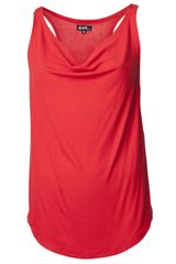 Again Draped Tank - Lyst