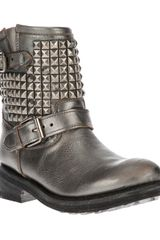 Ash Studded Boot - Lyst