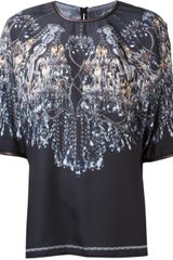 Clover Canyon Chandelier Print Top - Lyst