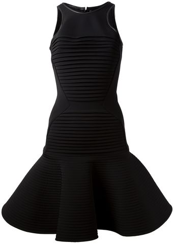 David Koma Pleated Dress - Lyst