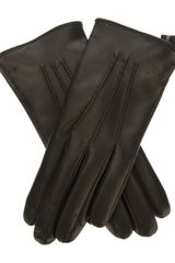 DSquared2 Leather Gloves - Lyst