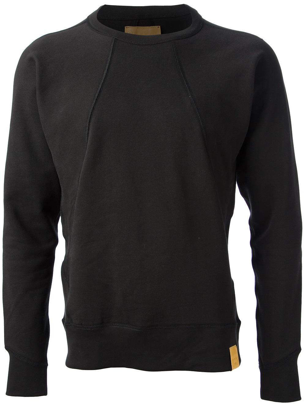 g star raw slim fit sweater in black for men lyst. Black Bedroom Furniture Sets. Home Design Ideas