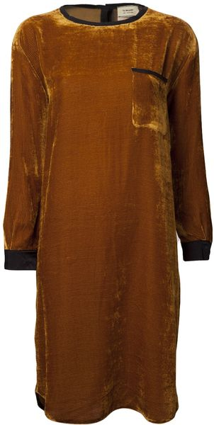 Giada Forte Crew Neck Tunic Dress - Lyst