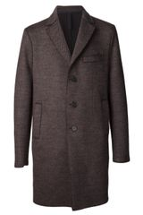 Harris Wharf London Herringbone Coat - Lyst