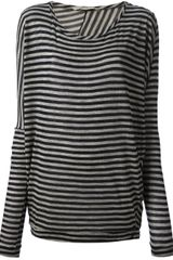 Humanoid Striped Top - Lyst